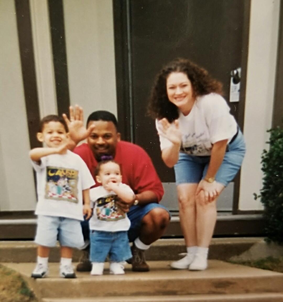 Tia Valentine's Family Image