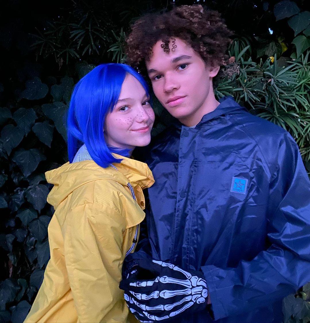 Jayden Bartels with her boyfriend Armani Jackson