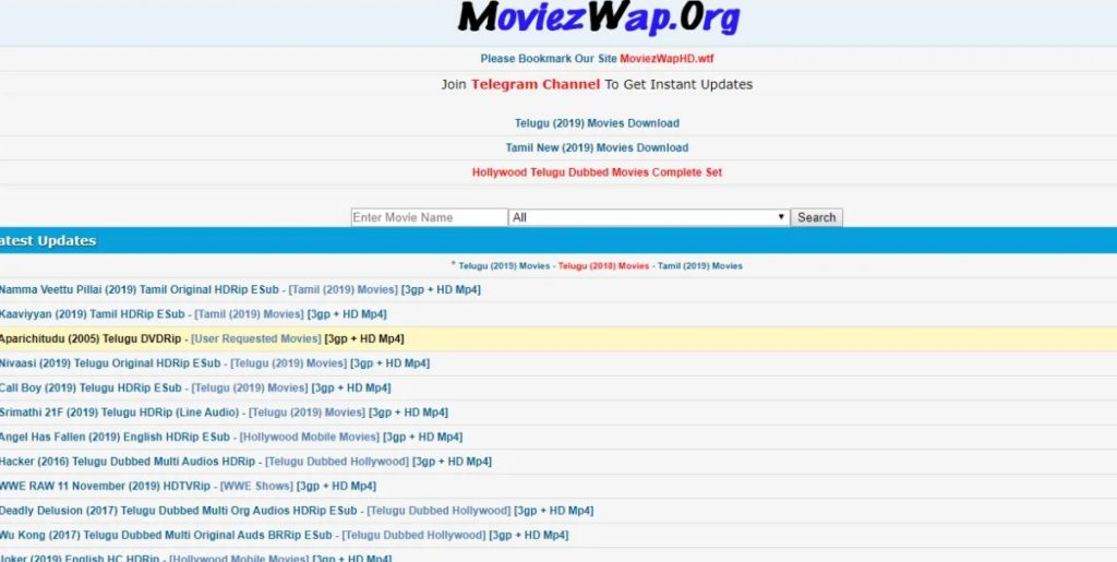 Moviezwap HD movies