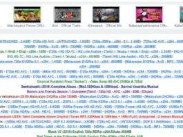Tamilrockers proxy site