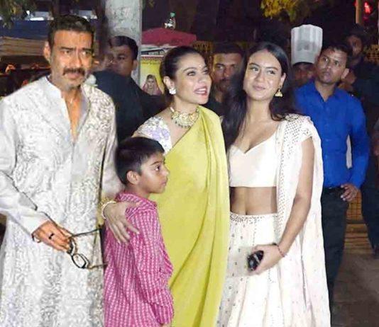 Beautiful Ajay devgan family