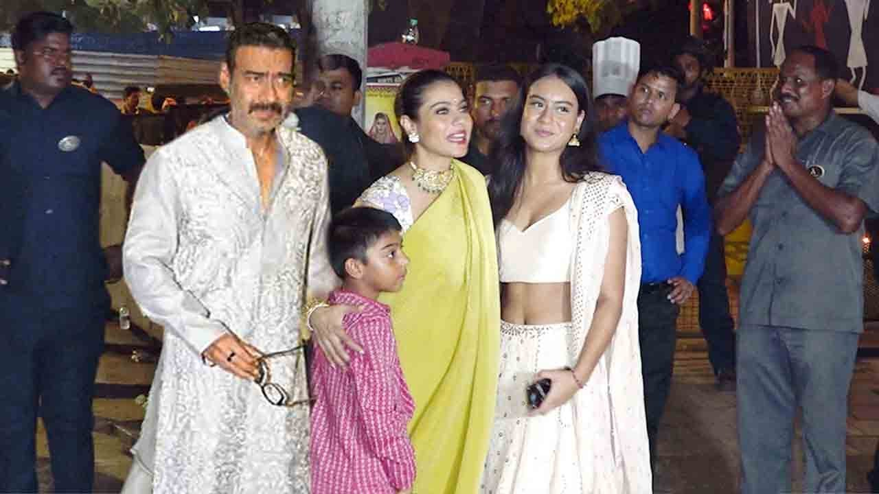 Beautiful Ajay devgan family