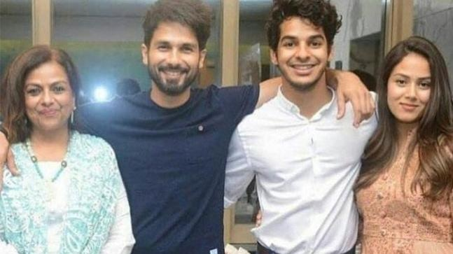 Shahid kapoor family pictures