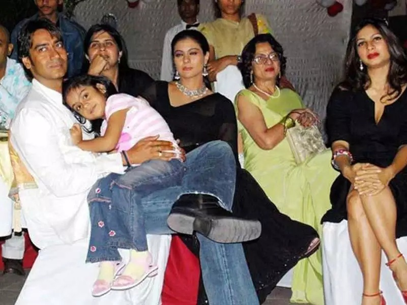 Ajay devgan family