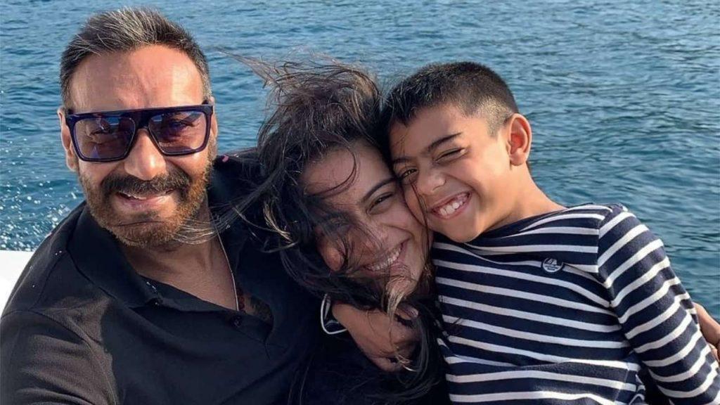 Ajay devgan family picture
