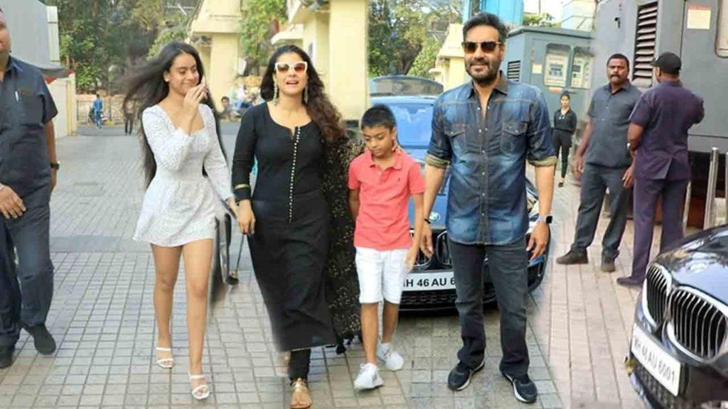 Ajay devgan family occasion
