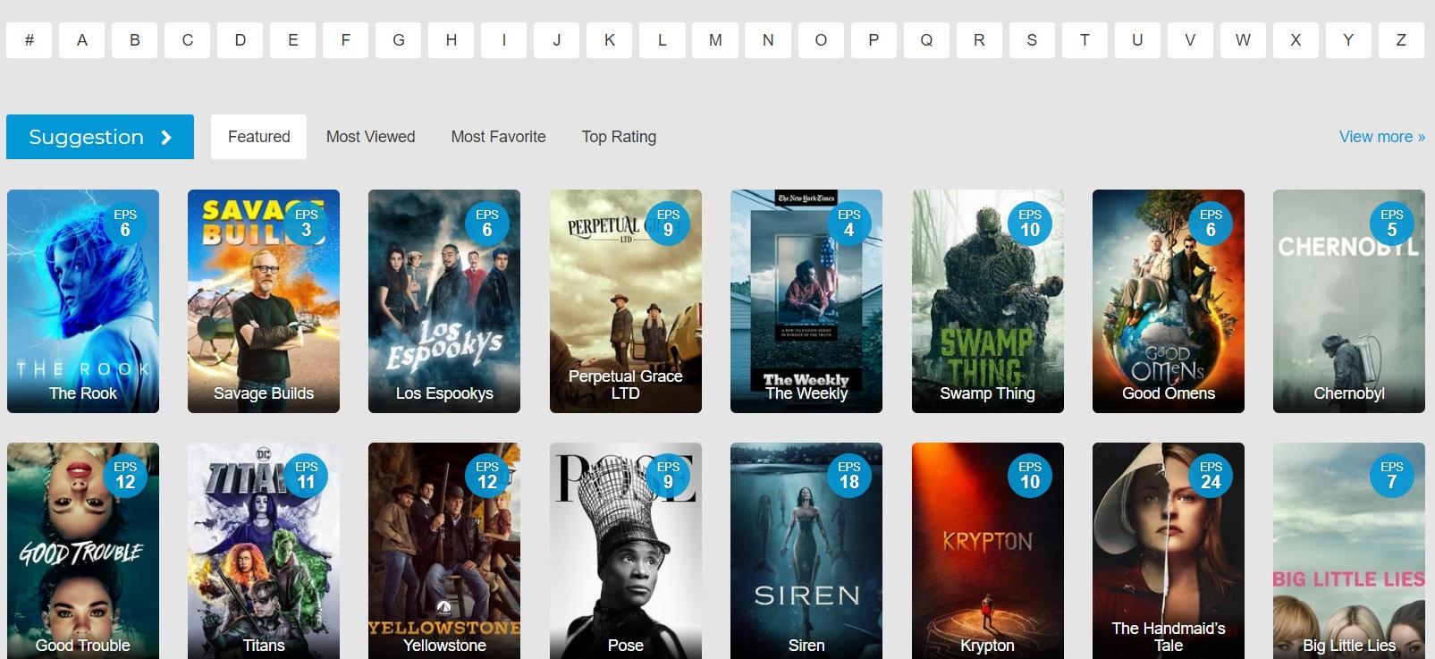 watch series online in HD