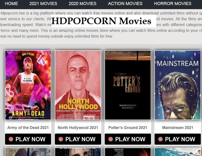 HDPopcorn site